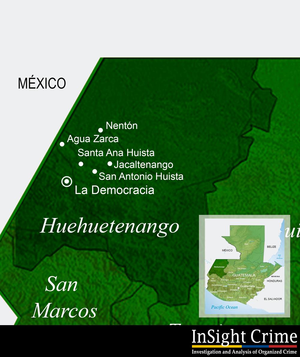 Huehuetenango map