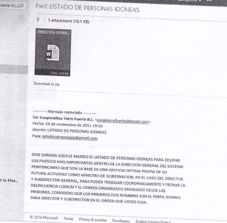 email-Lima-to-Lopez-bonilla