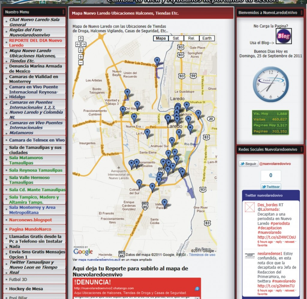 NL halcones map