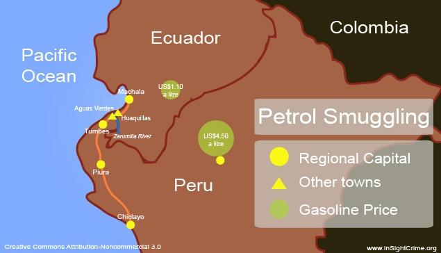 Peru - Petrol Smuggling