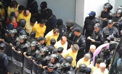 Arrest of Michoacan mayors in 2009