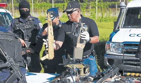 Peru's anti-drug police played a key role in the operation