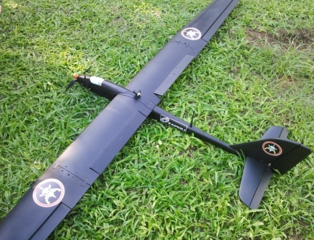 A drone being developed by Brazilian engineers