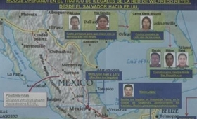 Gang members in El Salvador's 'peace zone'