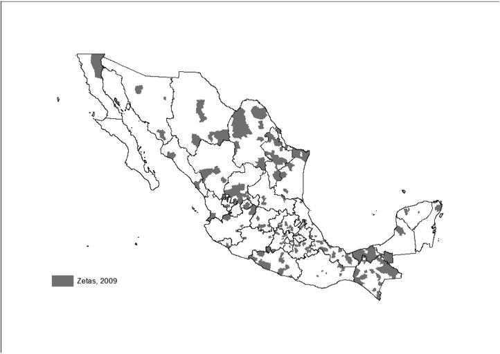 mexico zetas 2009