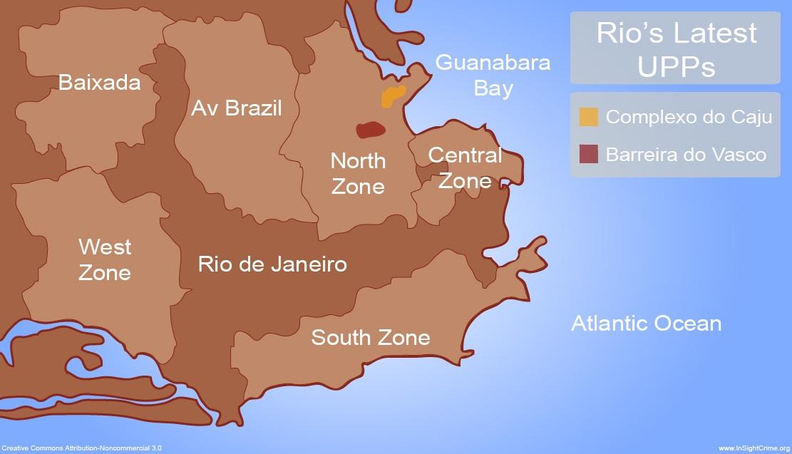 rio upps map