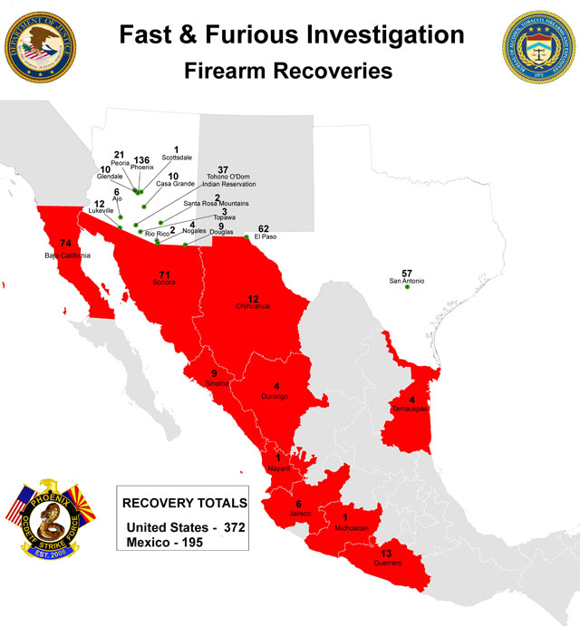 Fast Furious map