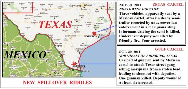 Each Involved A Different Mexican Crime Cartel On Different Kinds Of Missions These Probes By Foreign Criminals Onto U S Soil Were Apparently Unrelated