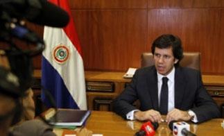 Paraguay Interior Minister Carmelo Caballero