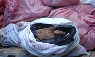 The seized material, which Bolivian officials say contained uranium