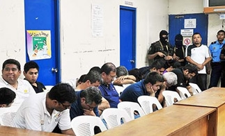 The 18 fake Televisa journalists in a Nicaragua courtroom