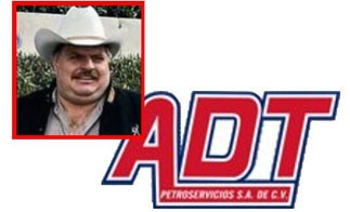 Blacklisted company ADT Petroservicios logo and owner Francisco Colorado Cessa