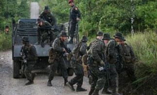 US Marines in Guatemala