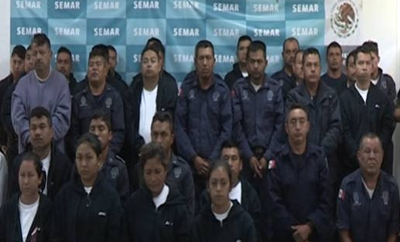 Police accused of working with the Zetas in Veracruz