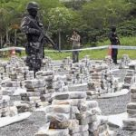 Cocaine seized by Ecuadorian authorities in 2012