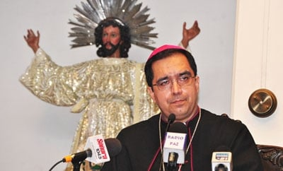 San Salvador Archbishop Jose Luis Escobar