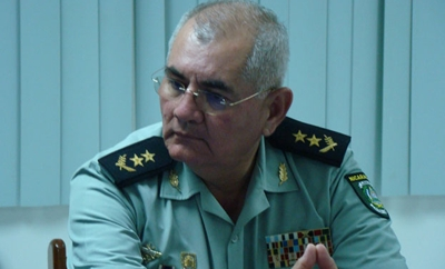 Major General Denis Membreño, head of Nicaragua's Financial Crimes Unit