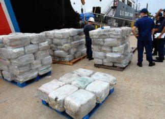 US Coast Guard cocaine seizure in 2011