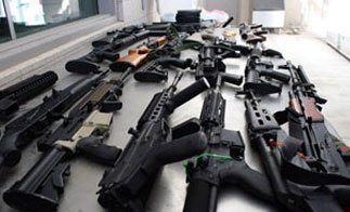 Guns seized in 2011 trafficked from Texas to Mexico
