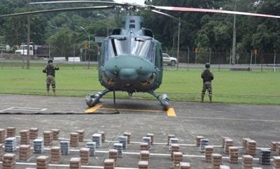 Cocaine seized under Operation Martillo