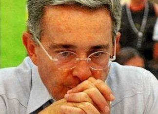 Former president Alvaro Uribe