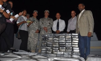 Dominican authorities announce the seizure of 1.5 tons of cocaine