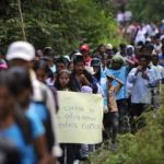 Forced displacement in Colombia
