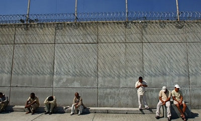 A men's prison in Mexico City