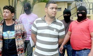 Suspected members of a Honduran extortion ring