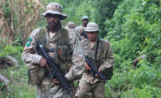 Belize military personnel