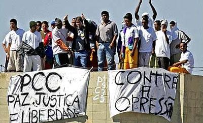 A PCC prison riot in Junqueiropolis, Sao Paulo