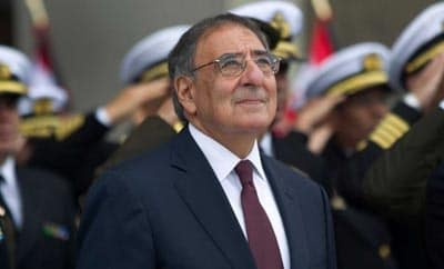 US Defense Secretary Leon Panetta in Lima