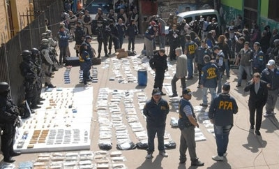 Argentine agents dismantle drug trafficking ring