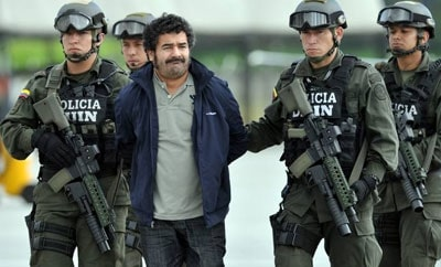 Diego Rastrojo was captured in Venezuela in June 2012