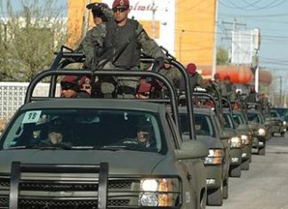 Mexican soldiers deployed to fight drug gangs in Ciudad Juarez