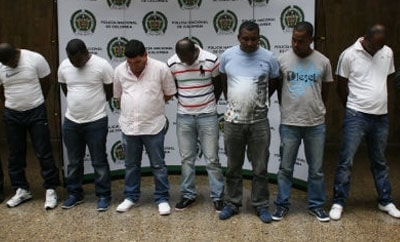 Members of the drug trafficking ring