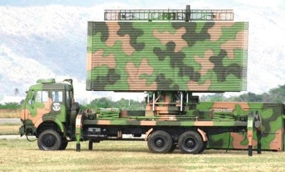 Chinese radar system purchased by Ecuador