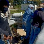 Vigilante group mans roadblock Urapicho, Michoacan