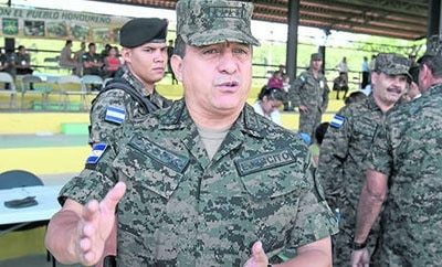 Honduras armed forces head General Osorio
