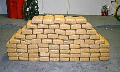The 400 pounds of marijuana seized in Jupiter, Florida