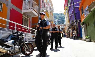 UPP forces on patrol in Rio