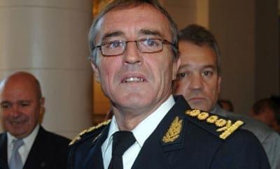 Former Santa Fe police commissioner Hugo Tognoli