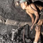 A coal miner in Coahuila, Mexico