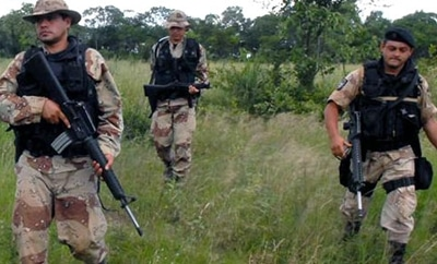 Paraguayan soldiers