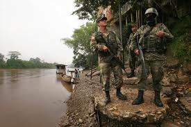 Colombia's border with Ecuador is very porous
