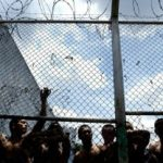 Inmates in a jail in northern Nicaragua