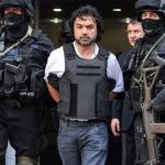 Police present Mi Sangre to Argentine press after his capture