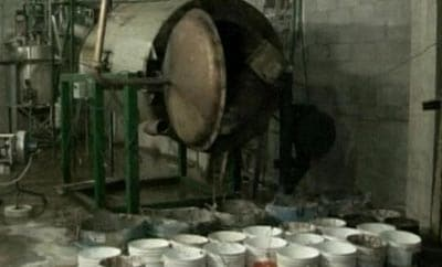 An industrial-scale meth lab discovered in Sinaloa in 2011