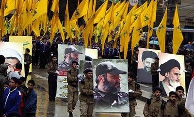 A Hezbollah rally in Lebanon in 2008