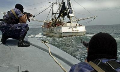 Nicaraguan Navy conduct anti-narcotics training